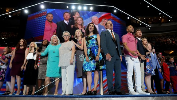 "Broadway performers sing ""What the World Needs Now Is Love"" on Wednesday."