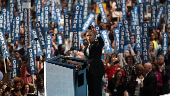 "Obama said Clinton is more ready than he was to become President. ""For four years, I had a front-row seat to her intelligence, her judgment and her discipline,"" Obama said, referring to her stint as secretary of state."