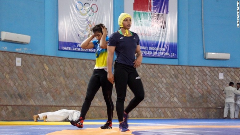 India sends its first female wrestlers to the Olympics