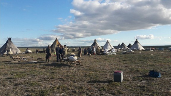 In July, thirteen people were hospitalized amid an outbreak of anthrax in western Siberia. Experts with the Russian Ministry of Agriculture believe the cause of infection was the thawing of the frozen carcass of a reindeer that died 75 years ago.