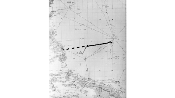 """The ship was steaming west from Tinian Island to the Philippines when a Japanese submarine spotted it. <a href=""""https://www.history.navy.mil/research/library/online-reading-room/title-list-alphabetically/s/sinking-ussindianapolis.html"""" target=""""_blank"""" target=""""_blank"""">A Navy Web page</a> gives accounts from both the Indianapolis and Japanese captains."""