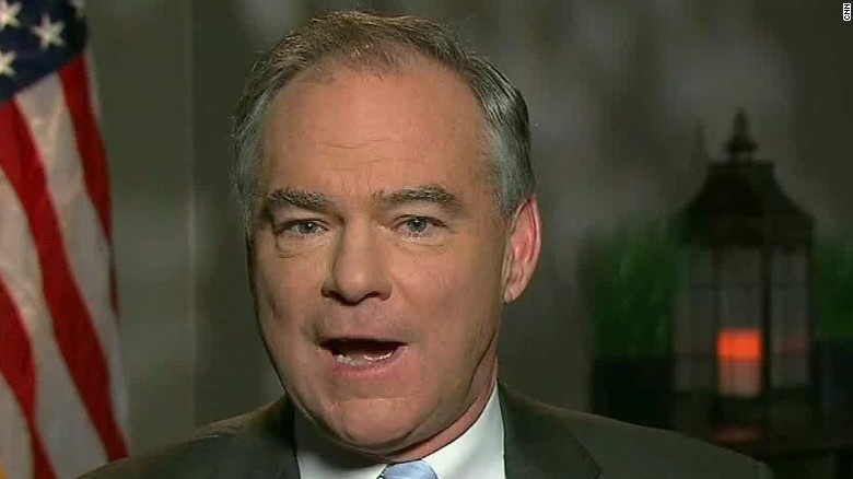 Tim Kaine Democratic vice presidential nominee intv newday_00002130