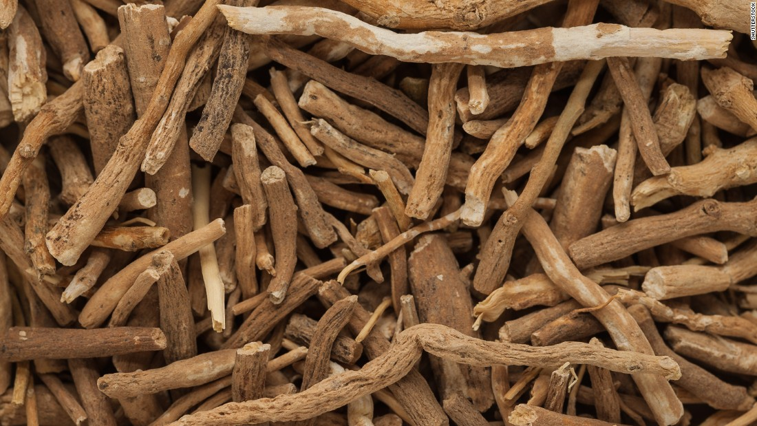 Ashwagandha, aka Indian ginseng, is an herb that has been used in Ayurveda and in many cultures for years. Some research suggests benefits, but Smith cautions that it may interact with other herbs or medications.