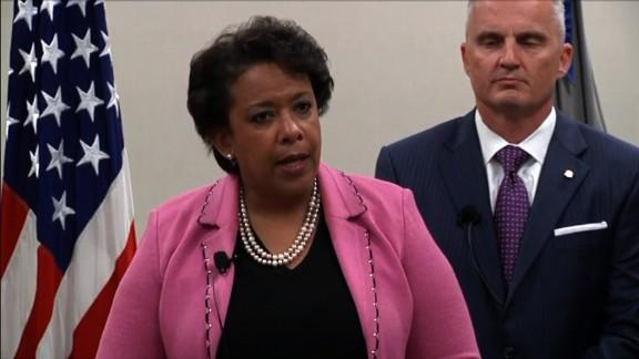 "NS Slug: LA: AG LORETTA LYNCH ON NC VOTING  Synopsis: Loretta Lynch: ""It targeted African Americans as the court noted with almost surgical precision""  Keywords: LOUISIANA LORETTA LYNCH"