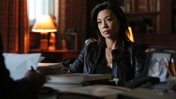 """Ming-Na Wen stars as Agent May in """"Marvel"""