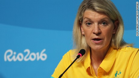 Kitty Chiller the Australian Olympic Team Chef de Mission