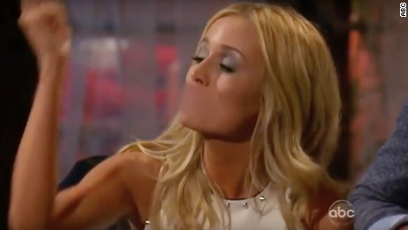 "Emily Maynard was not having it when Kalon McMahon called her daughter ""baggage."""