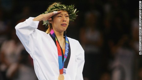 Chen Shih-hsin was the first ever Taiwanese athlete to win Olympic gold.