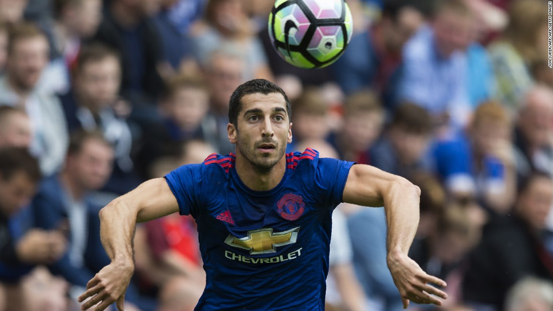 On July 6, Mourinho made Henrikh Mkhitaryan his second signing at the club, with Manchester United paying Borussia Dortmund a reported fee of $40 million for the Armenia midfielder.
