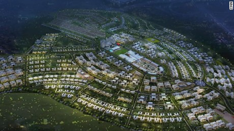 Vision City, Rwanda, is the country's largest housing project.