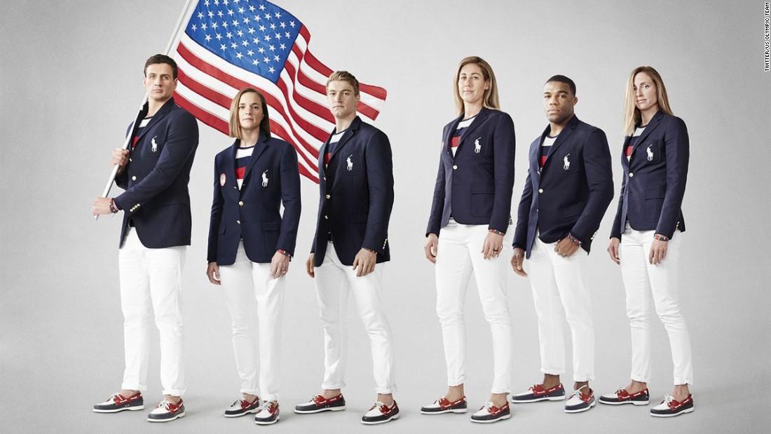 Team USA s Olympic uniform mocked on social media - CNN 2ec295e46781