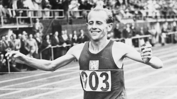 """<strong>""""The Czech Locomotive"""":</strong> Emil Zapotek is the only person to win the 5,000 meters, the 10,000 meters and the marathon all in the same Olympics (1952). But perhaps even more amazing was that until that point, he had never run a marathon in his life."""