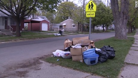 Flint says a temporary agreement will allow for trash pickup until August 12.