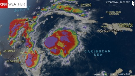 Tropical Storm Earl Forms In Caribbean Cnn Video