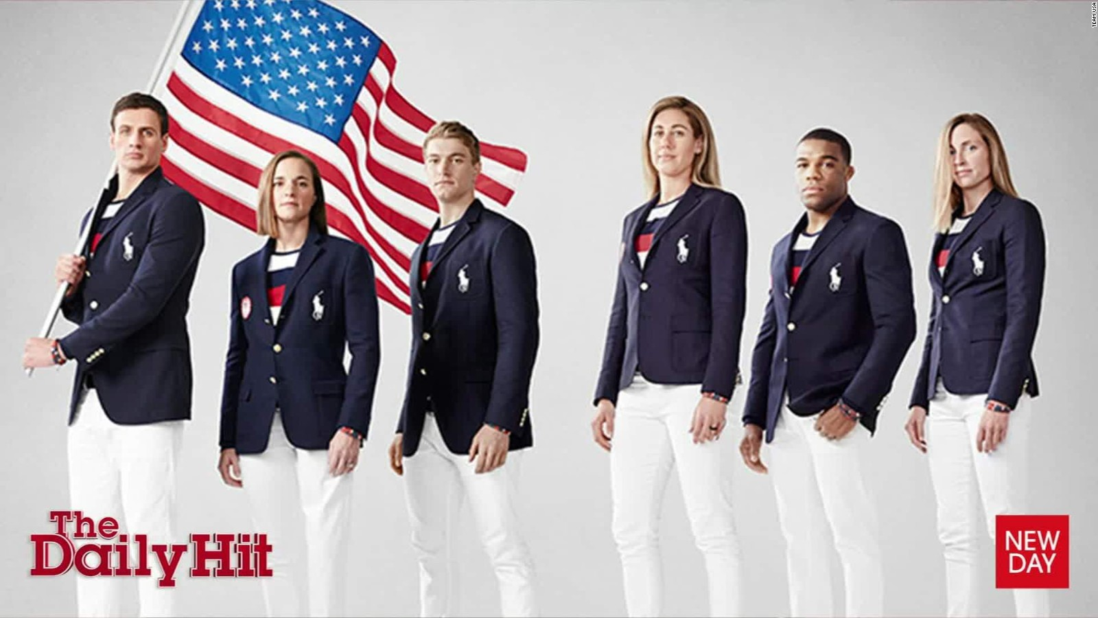 Team Usas Olympic Uniform Mocked On Social Media Cnn