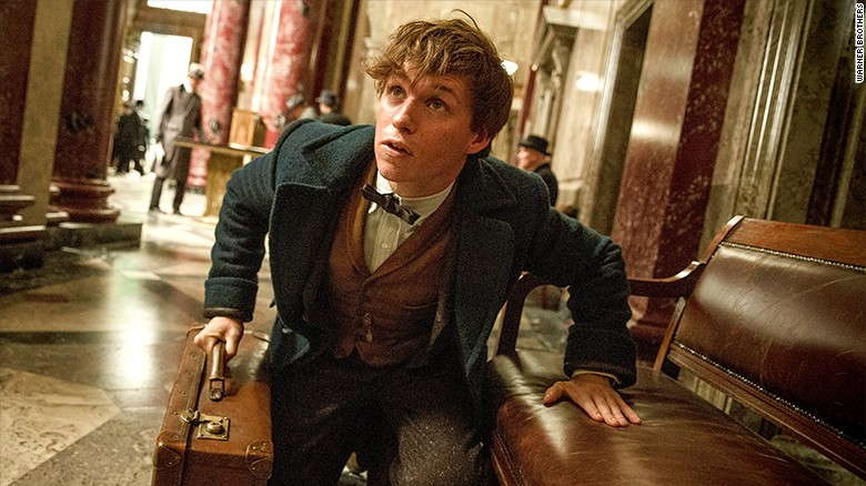 A peek inside the world of 'Fantastic Beasts'