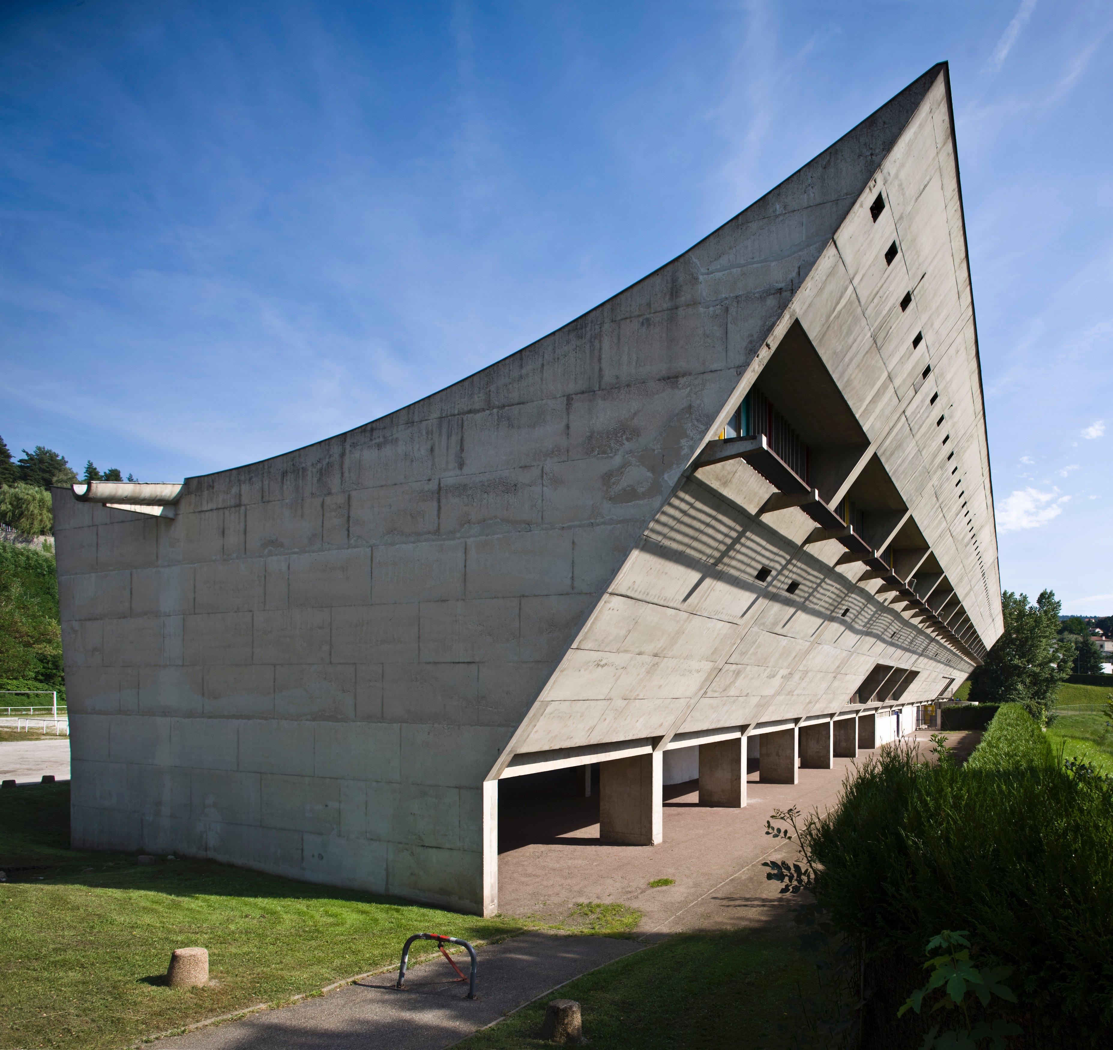 le corbusier s concrete wonders style
