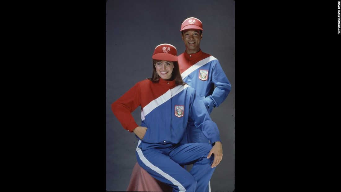 <strong>Los Angeles, 1984:</strong> Athletes? Or Domino's delivery people?