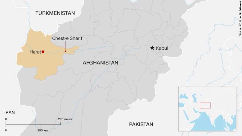 Taliban claims attack on tourists in Herat CNN