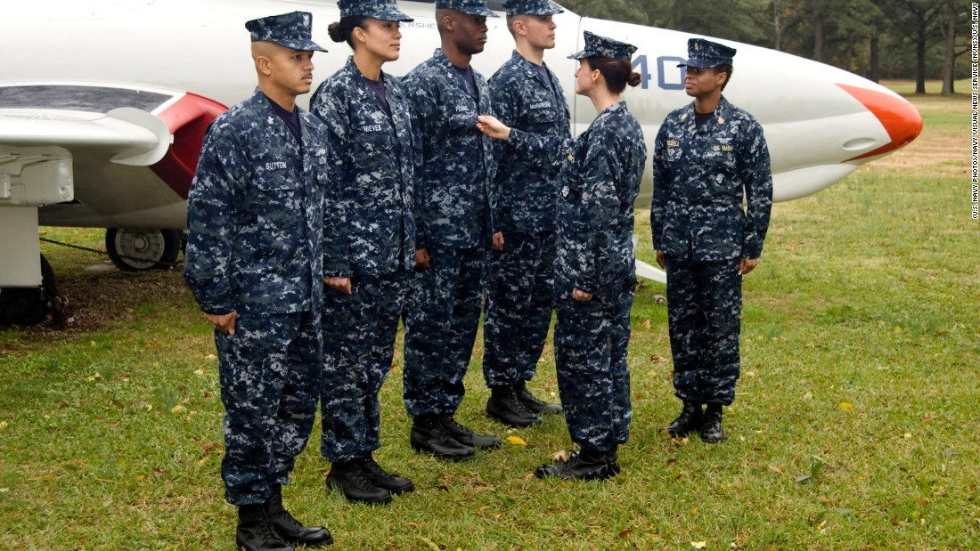 Navy says goodbye to aquaflage uniforms - CNNPolitics
