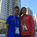 olympic village swimmers