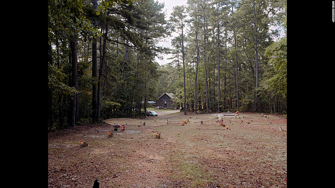 Sacred Harp music has flourished in the South, bringing together people to sing in places like Alabama's Talledega National Forest.