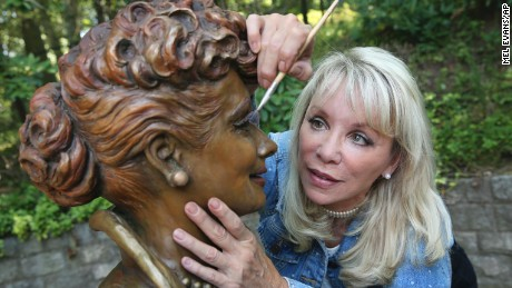 New Lucille Ball Statue Replaces Scary Lucy Cnn
