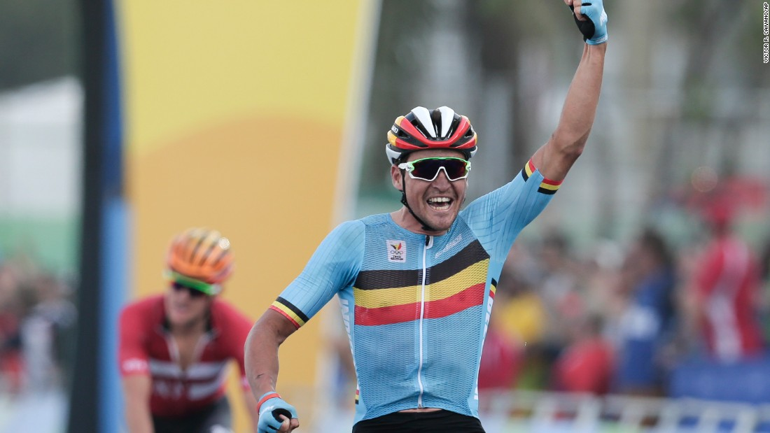 bda2a2619 Cycling road race  Belgian outshines Tour champ Froome to win gold at Rio  Olympics - CNN