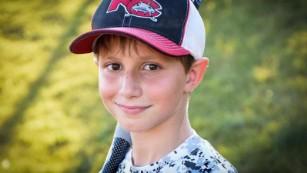 Caleb Schwab, el hijo de 10 años de un legislador del estado de Kansas, murió mientras montaba la diapositiva en 2016.