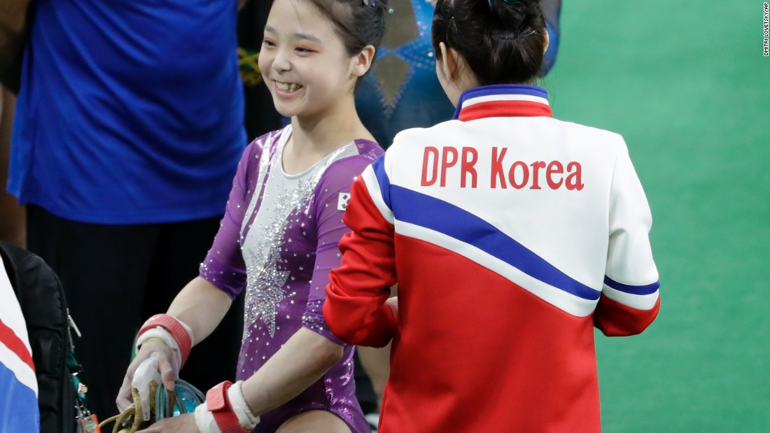In olympics is north korea the