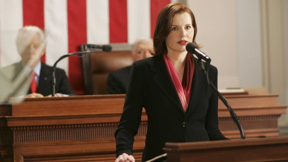 Geena Davis, 'Commander in Chief'