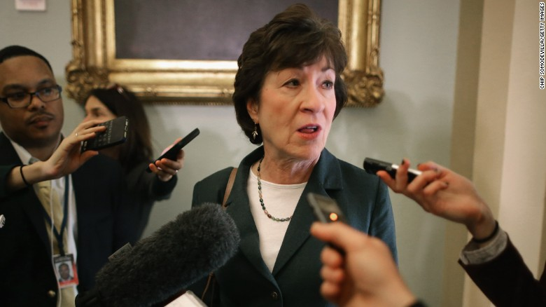 Collins urges keeping mandate to buy insurance