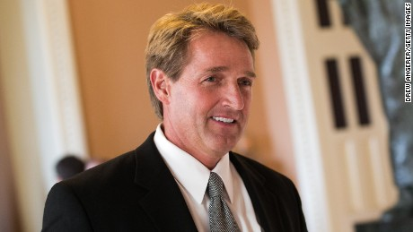 In Arizona, it's Flake vs. Trump in a test of the GOP's allegiances