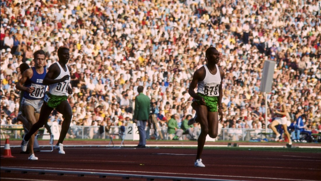 Kipchoge Keino was one of the first athletes to set the bar for Kenyan running back in the 1960s. Keino won two Olympic golds and two silvers before going on to found an athletics training camp at Eldoret, near Iten.