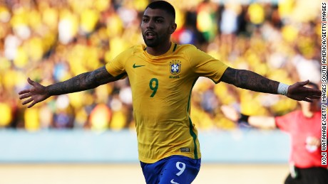 Brazil's Gabriel Barbosa has caught the eye of Chelsea, Inter Milan and Juventus.