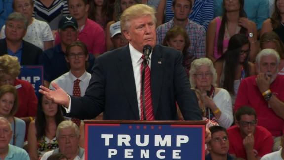 Donald Trump NC rally