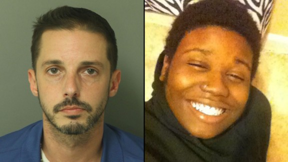 Chad Copley, left, has been charged in the death of Kouren-Rodney Bernard Thomas.
