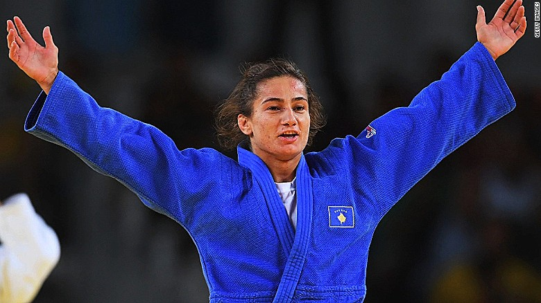 Legends of judo: Majlinda Kelmendi