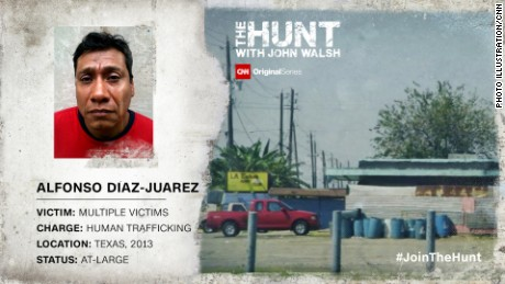 Alfonso Diaz Juarez is accused of human trafficking in a Houston-area prostitution sting.