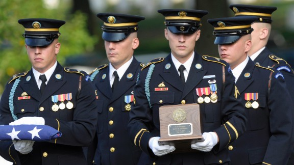 A soldier who lost both legs serving in Iraq fell to his death from a roller coaster in upstate New York in 2011. Sgt. James Hackemer, 29, was riding the Ride of Steel roller coaster at Darien Lake Theme Park Resort when he plummeted about 200 feet to the ground. Hackemer's remains were laid to rest at Arlington National Cemetery.