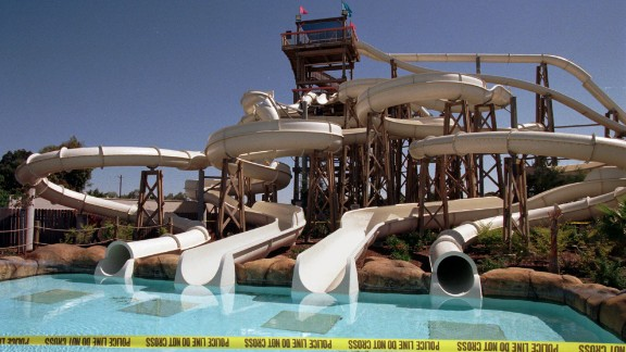 A group of high-schoolers' pre-graduation outing turned into a nightmare when a water slide collapsed at Waterworld California in 1997. The accident injured at least 30 people and killed a teenage girl. The girl's family settled a lawsuit against Waterworld USA and its parent company Premier Parks Inc. for $1.7 million three years later, according to the Los Angeles Times.