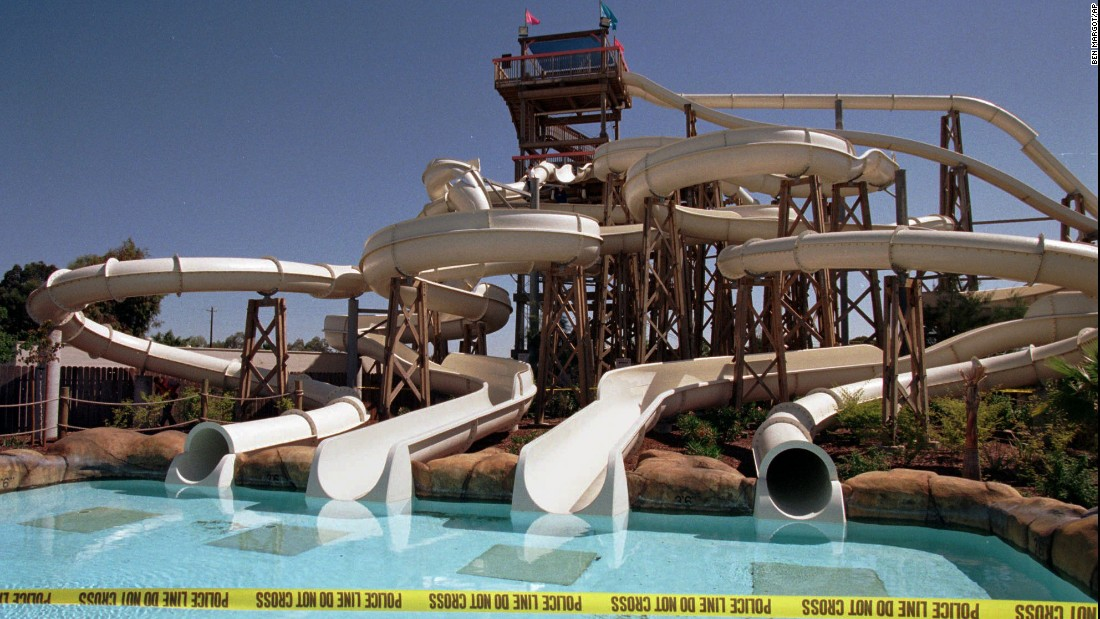 "A group of high-schoolers' pre-graduation outing turned into a <a href=""http://edition.cnn.com/US/9706/03/water.slide/"">nightmare</a> when a water slide collapsed at Waterworld California in 1997. The accident injured at least 30 people and killed a teenage girl. The girl's family settled a lawsuit against Waterworld USA and its parent company Premier Parks Inc. for $1.7 million three years later, according to the <a href=""http://articles.latimes.com/2000/may/13/business/fi-29658"" target=""_blank"">Los Angeles Times</a>."
