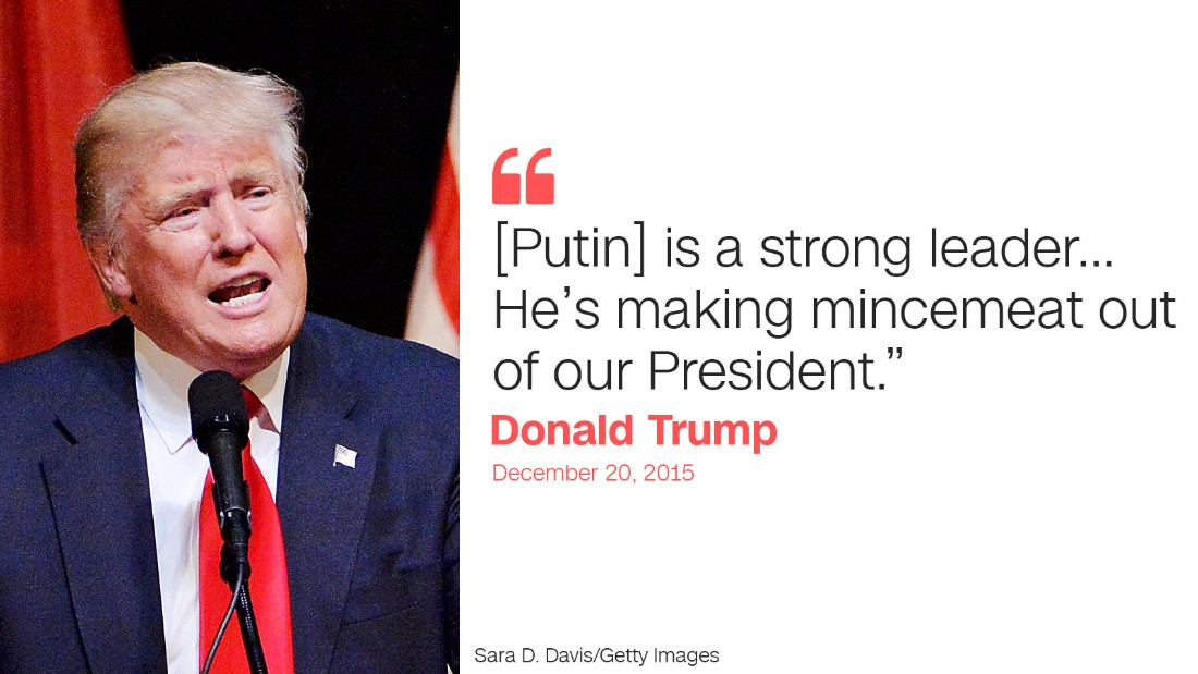 trump quote nine putin