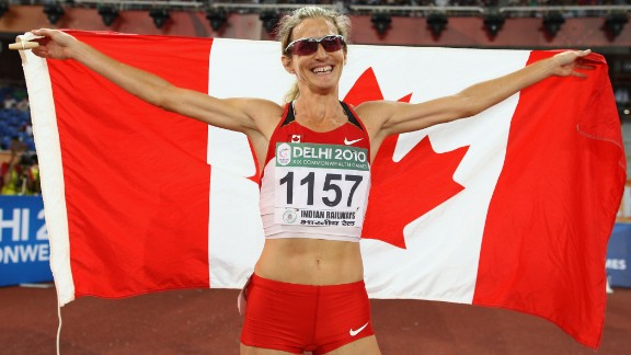 """Some athletes, including Canadian Diane Cummins, have compared racing against Semenya to """"running against a man."""""""