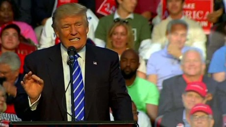 ex congressman sits behind trump at rally berman sot ac_00005103.jpg