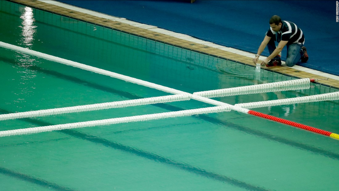 1 million-gallon Olympic pool drained - CNN