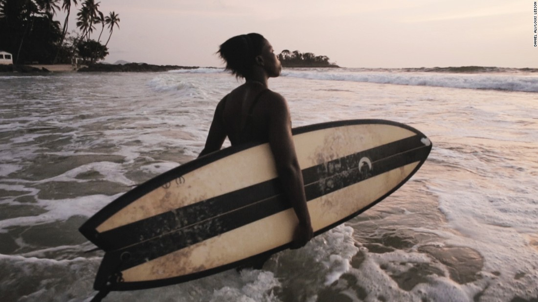 "At 19-years-old she has become the focus of new documentary short ""A Million Waves"" by British filmmakers Daniel Ali and Louis Leeson, capturing her life and passion for surfing."