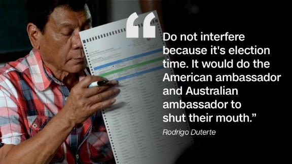 Foreign diplomats weighing in on Rodrigo Duterte