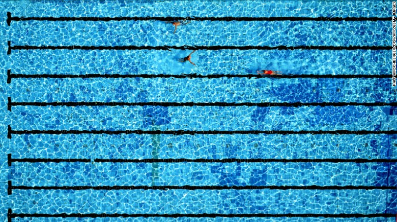 In At The Deep End Why Are Swimming Pools Always Blue