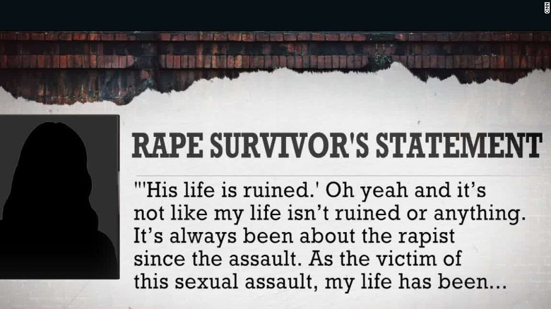 Sexual assault survivor: 'My life has been ruined'